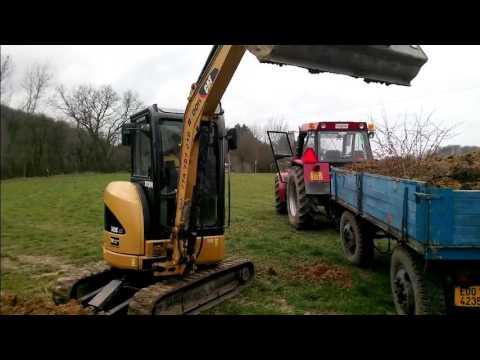 Úprava terénu CAT 303C CR