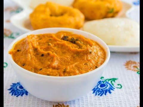 South Indian Tomato Chutney/Tomato Onion Chutney