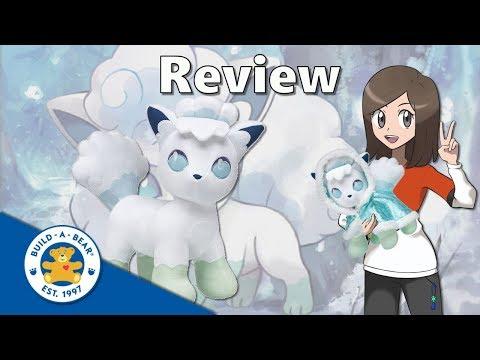 Pokémon Build a Bear Alolan Vulpix Review
