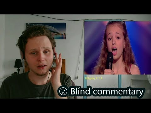 Rosa Faded  The Voice Kids 2017  The Blind Auditions Blind commentary