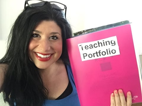 How To Organize A Teaching Portfolio ❤️