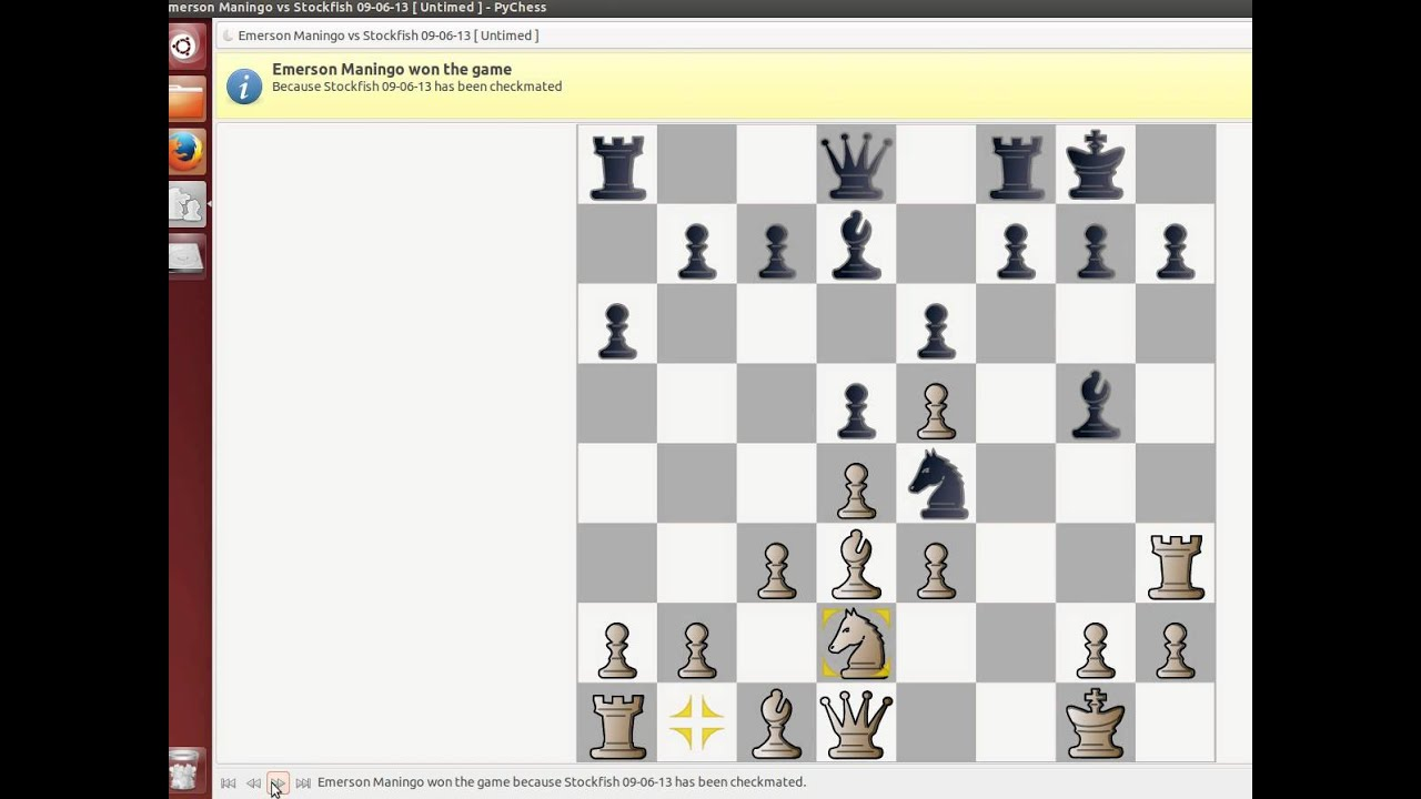 Stockfish 5 vs Emerson Maningo (Stonewall attack)
