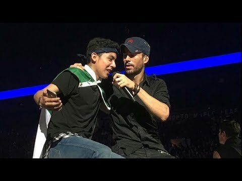 Enrique Iglesias Live in Toronto #AirCanadaCentre, day 1
