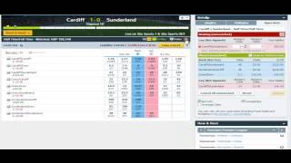halftime-fulltime trading on Betfair