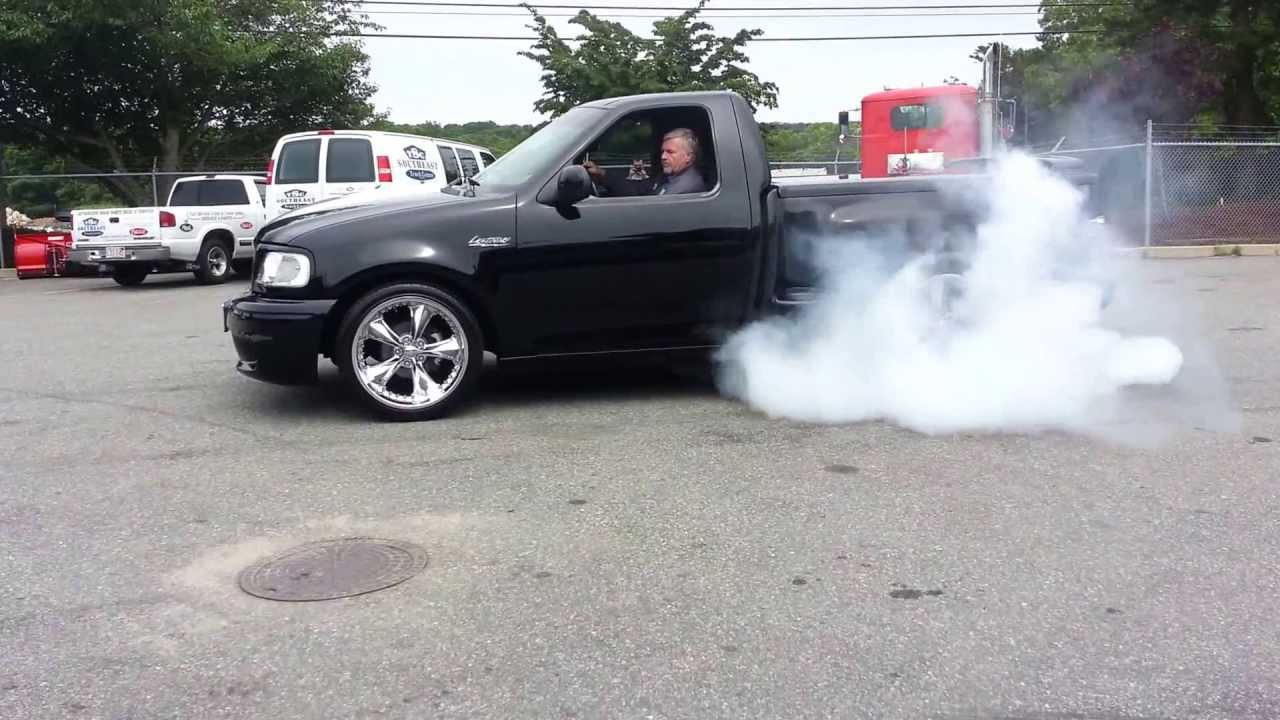 2001 Ford Lightning Burnout
