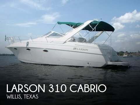 Used 1998 Larson 310 Cabrio For Sale In Willis, Texas