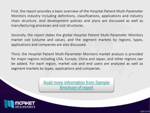 Global Hospital Patient Multi-Parameter Monitors Consumption 2016 Market | Revenue Models