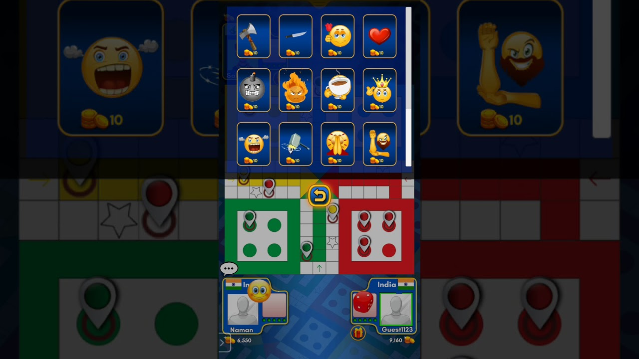 Playing Ludo King with friends ft.(Raunak Jalan)