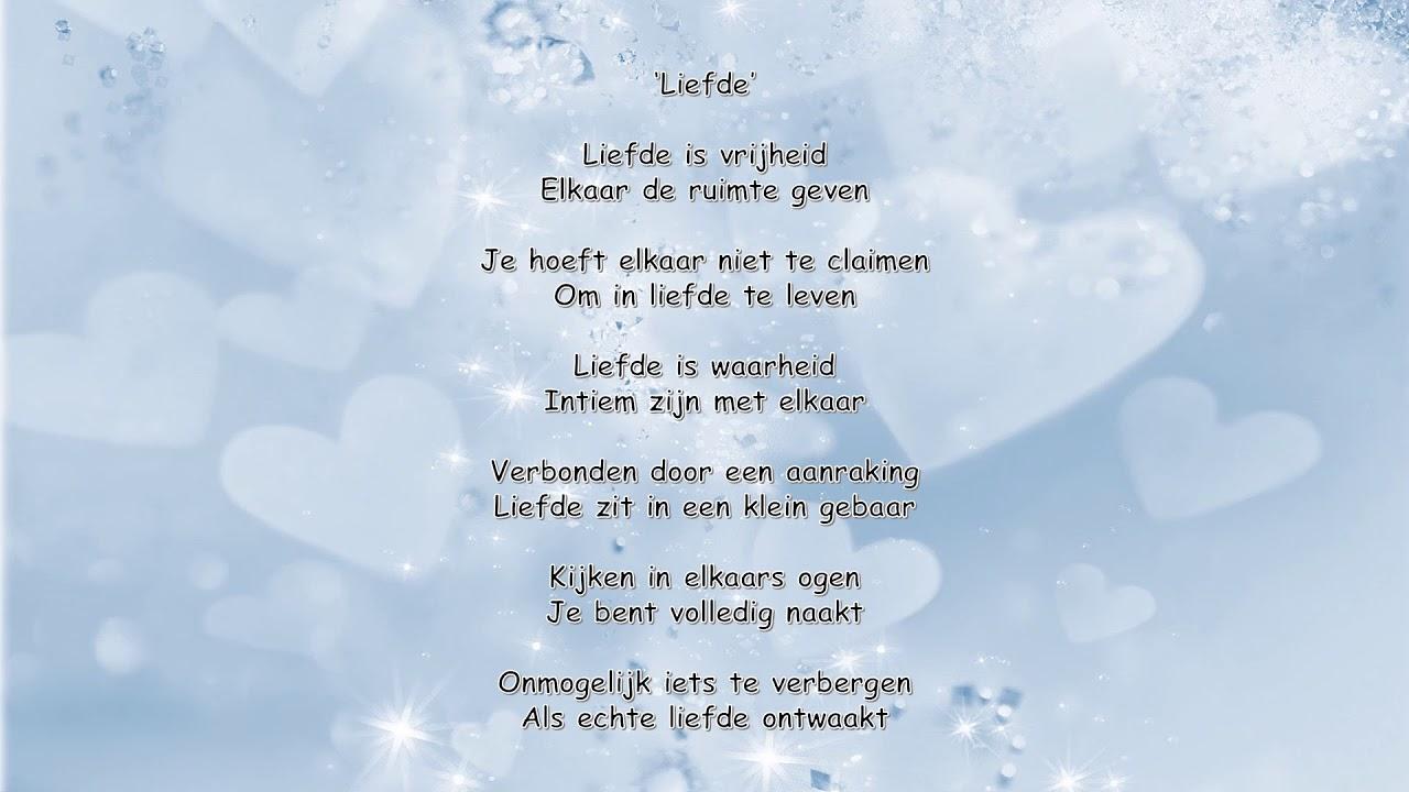 Verwonderend Gedicht Liefde - YouTube OH-71