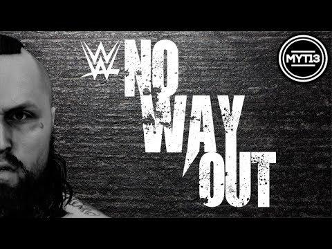 WWE 2K18 - Universe Mode - No Way Out