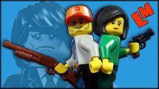 Джон и Келли в ловушке. Зомби-атака 17 (лего мультик)