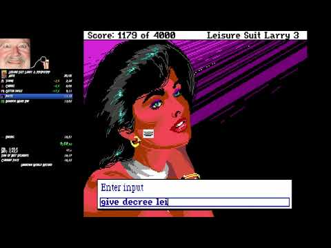 Leisure Suit Larry III any% in 16:24 |
