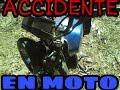 Como me caí de mi motocicleta