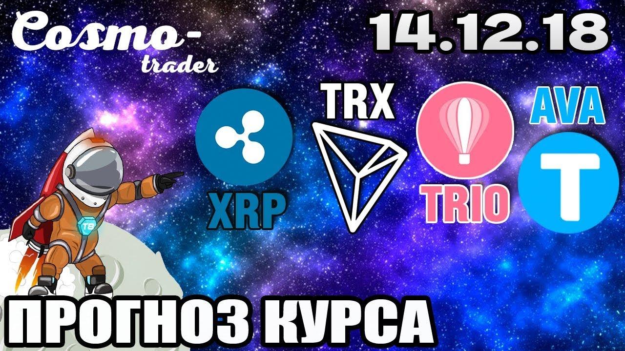 Технический Анализ Криптовалют - Ripple, Tron, а Также Tripio и Travala на 14.12.2019