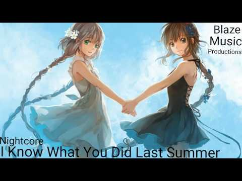 Nightcore-I Know What You Did Last Summer (by Shan Mendes feat. Camila Cabello)