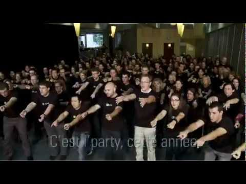 Flashmob Desjardins Assurance collective - Desjardins Group Insurance