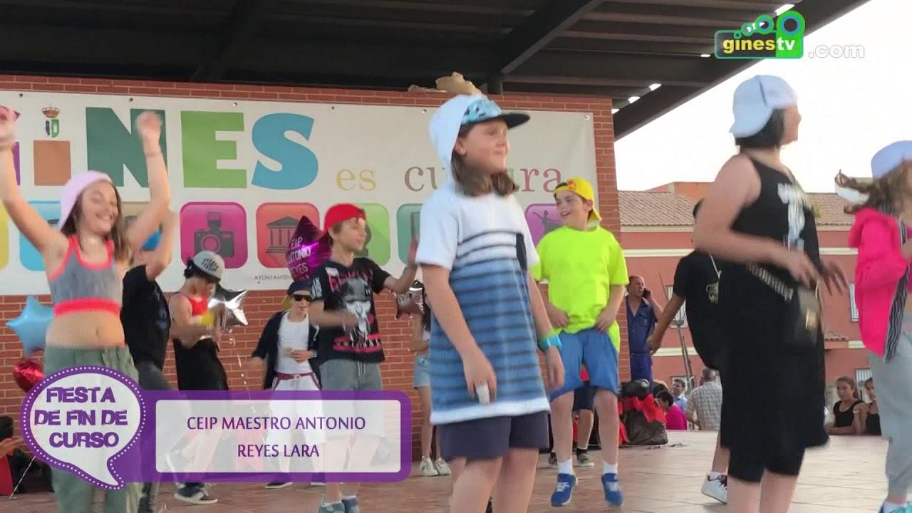 Fiesta fin de curso CEIP Antonio Reyes Lara de Gines 2017-2018 (resumen)