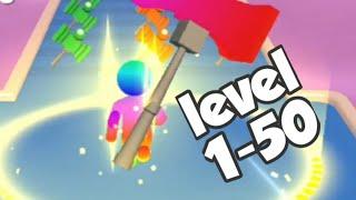 GIANT HAMMER game|ALL LEVELS gameplay walkthrough screenshot 4