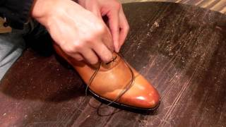 靴紐通し方パラレル thumbnail