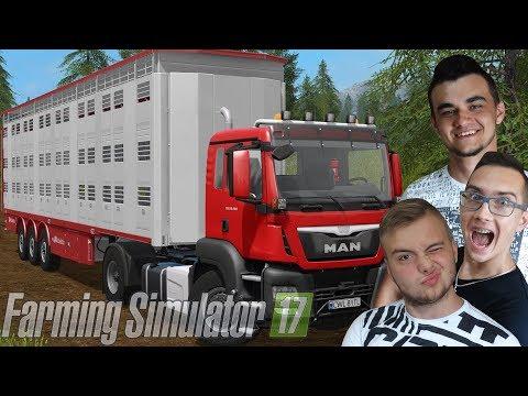 """Nowy MAN!! Mega sprzedaż zwierzaków!!!🚜 FS17 MP """"od Zera do Farmera"""" #227 ㋡ MafiaSolecTeam"""