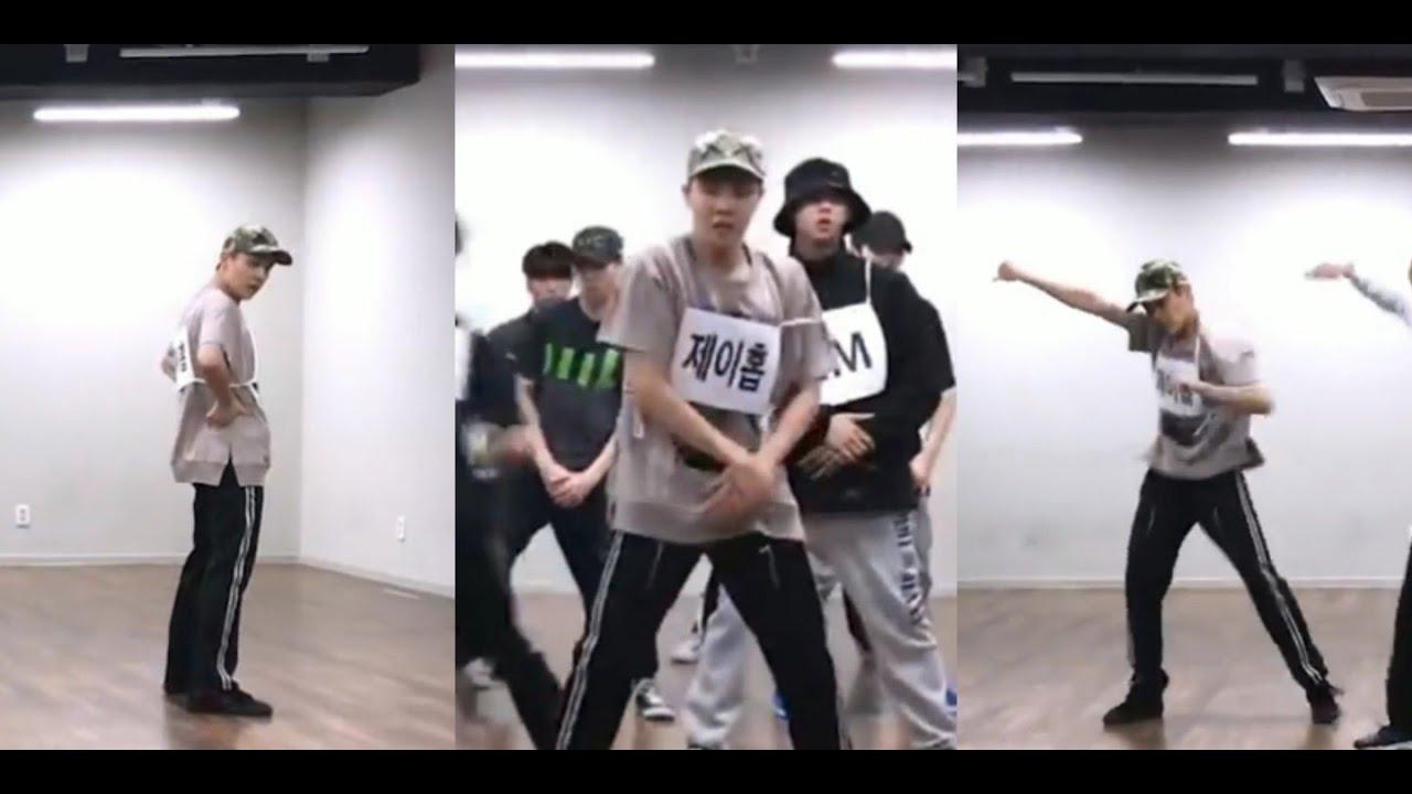 BTS J-hope 정호석 FOCUS VER. MIC DROP MAMA DANCE BREAK PRACTICE (Vertical Ver)