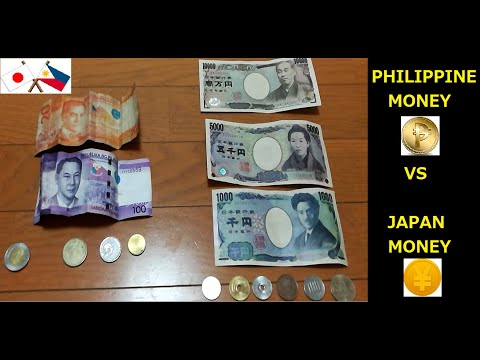 Japan Money Vs Philippine Money