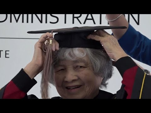 75-Year-Old California Woman Finishes College After Dropping Out Decades Ago