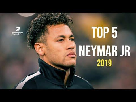 TOP 5 LOS MEJORES RAPS DE NEYMAR JR | BARCELONA