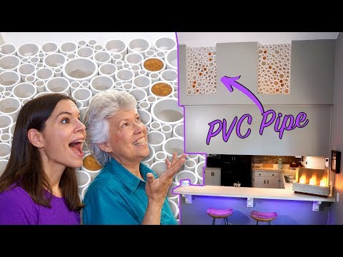 How to Make PVC Pipe Artwork for Inside the Home // Part 2