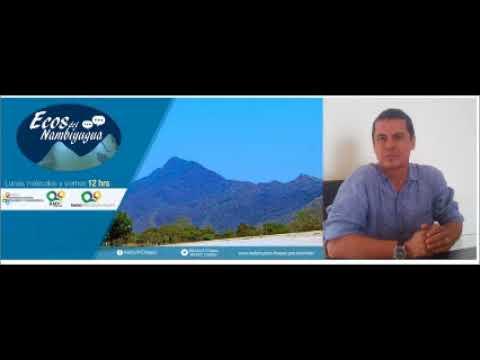 Martin Mendoza ENTREVISTA al Arq  Alberto Cuessy Muñoz en Programa Ecos del Nambiyugua por Radio Fra