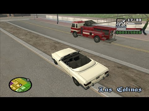 GTA San Andreas- End of the Line - Riots Mission 3