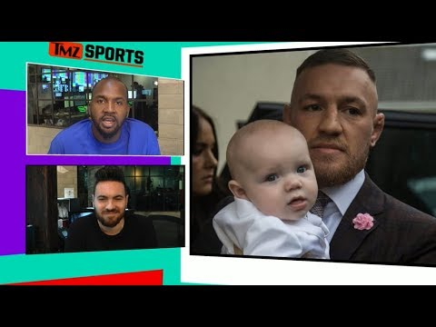 Conor McGregor Baptizes Conor Jr., Wild Party Ensues | TMZ Sports