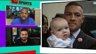 Conor McGregor Baptizes Conor Jr., Wild Party Ensues | TMZ Sports