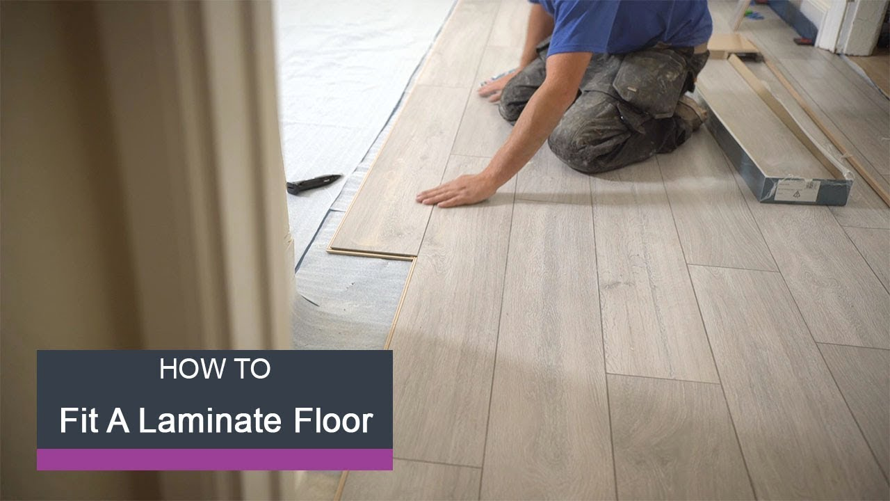 Wickes How To Lay Laminate Flooring Youtube