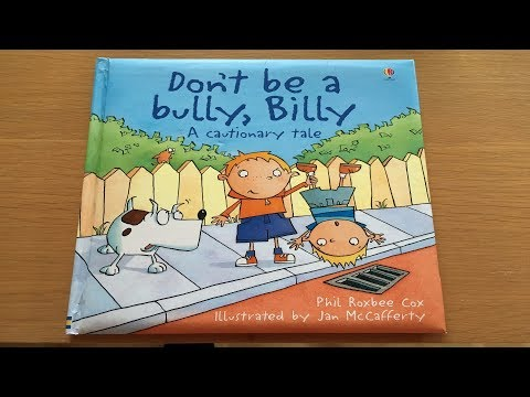 Don't Be A Bully Billy by Phil Roxbee Cox - Children's Bedtime Stories
