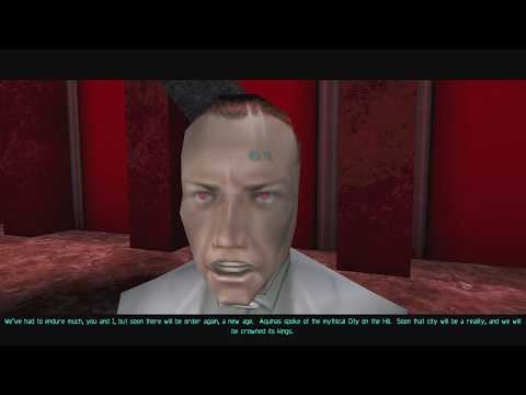 Deus Ex GMDX 9.0 walkthrough #1 Statue of Liberty