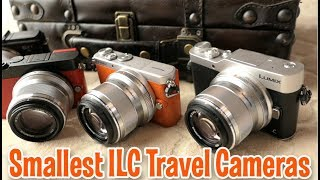 Smallest Tiny ILC M43 Travel Cameras- Amazing Quality