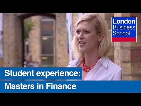 Masters in Finance: Fast-Track Your Career in Finance at London Business School