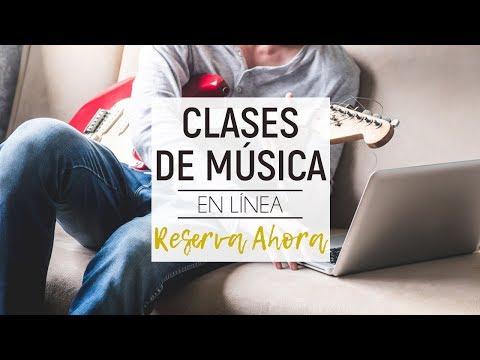 Clases de Música en Línea - Clases Particulares Mantra Music