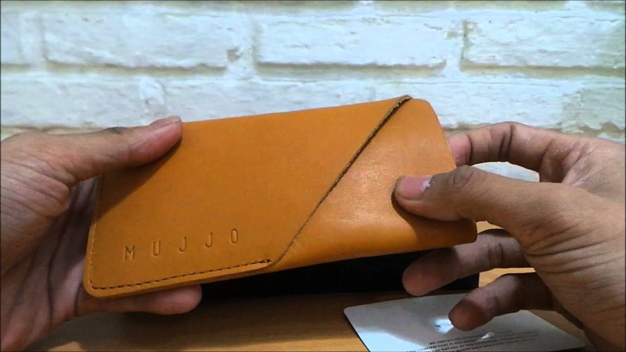 save off 4cfeb c07fb Mujjo iPhone 6 Leather Wallet Sleeve
