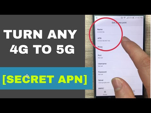 Secret APN That Converts 4G To 5G On Any Network   Increase 4G Speed