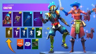 *NEU* Fortnite Skins & Emotes! (Harry Potter Skins, Bombastic, Lamacadabra, Male Power Chord)