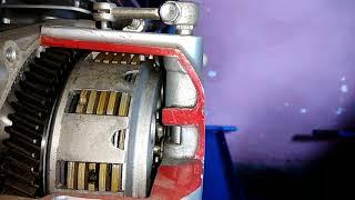 How Motorcycle Clutch Works  Cara Kerja Kopling Manual Sepeda Motor