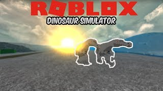 (Roblox Dinosaur Simulator) Playing as a GAB with Silent