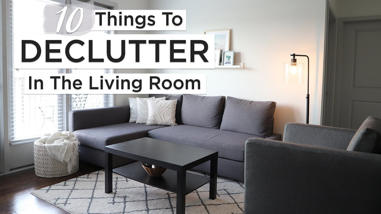 10 things to declutter