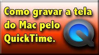 Como gravar a tela do Mac pelo QuickTime. Mac OS X El Capitan - Para fazer tutorial