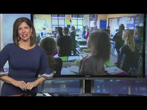 The Morning Pledge: Christiana Elementary School