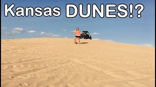 Camping at Syracuse Sand dunes, RZR & Expedition Vehicle in the sand!