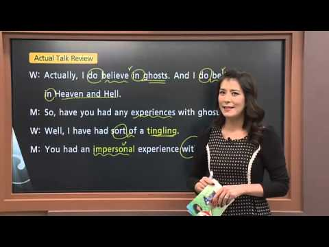 Actual English with Jennifer - Lesson 100. Ghosts and Spirits_#001