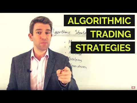 Algorithmic Trading Strategies and Concepts 🤫